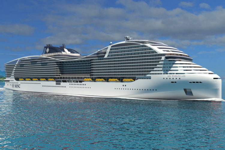 MSC Cruises to develop 'wind-powered' ship class