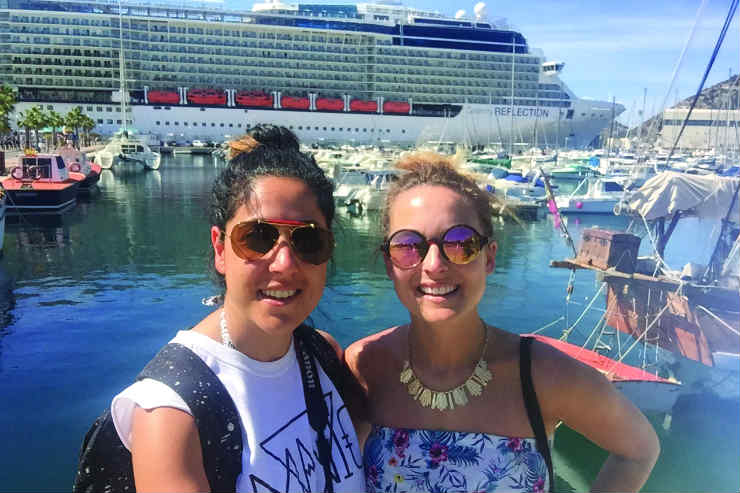 LGBT-friendly cruising onboard Celebrity Reflection