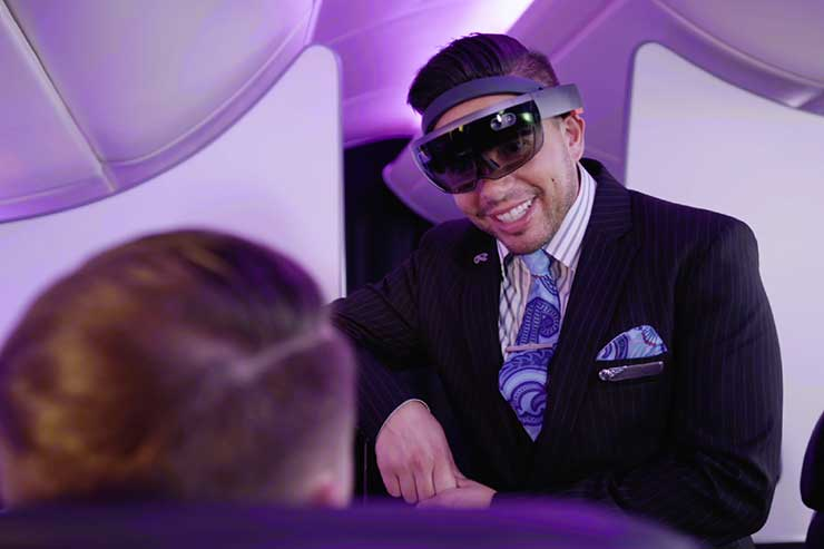 Air New Zealand tests HoloLens on cabin crew