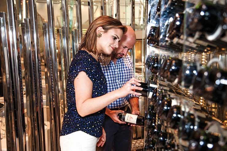 The Wine Show presenters Amelia Singer and Joe Fattorini