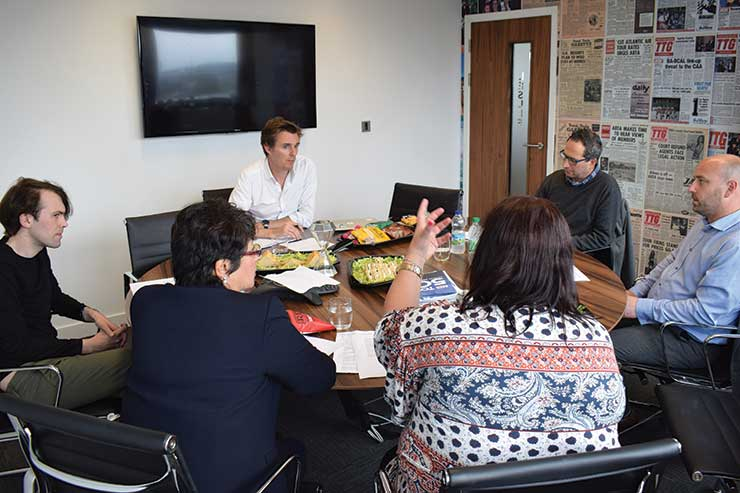 TTG Roundtable: Technology on the frontline