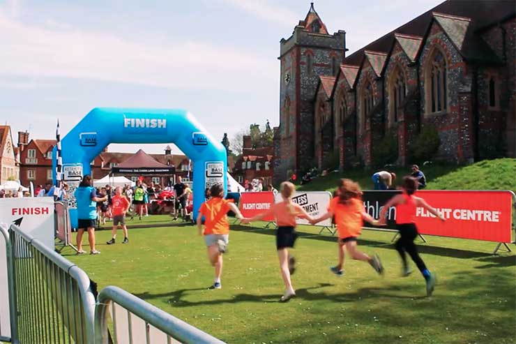 The Flight Centre Schools Triathlon