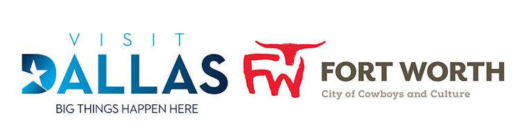 Dallas and Fort Worth logos