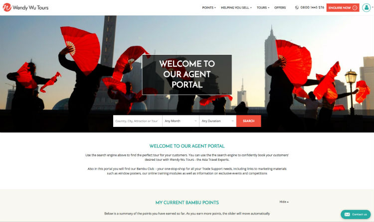 Wendy Wu launches bookable agent website