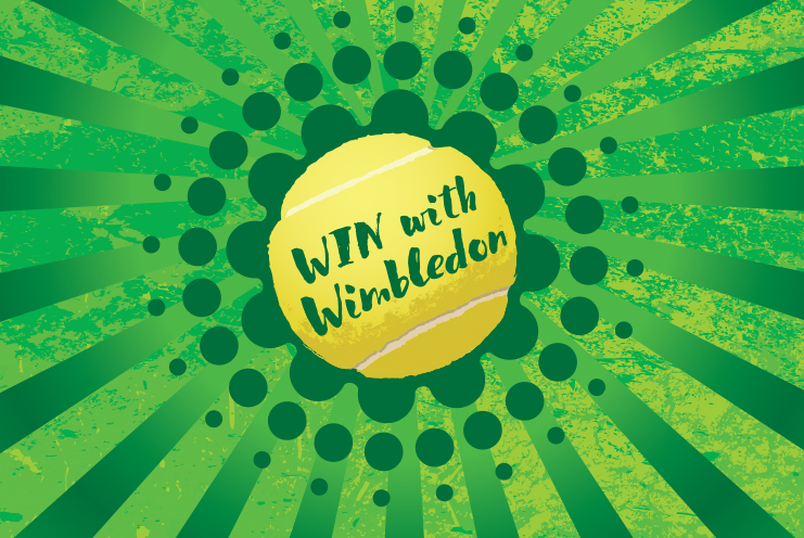 Win one of seven Wimbledon-themed prizes