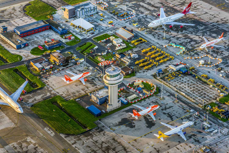 Virgin will cease operations at Gatwick, but plans to retain its slots