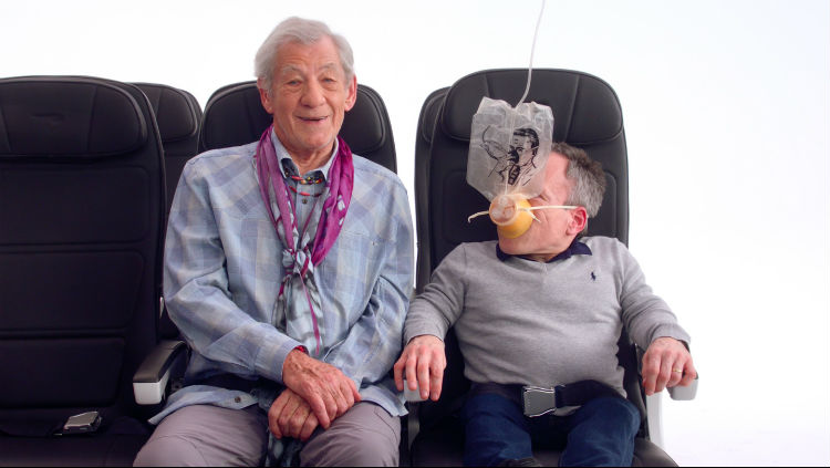 Watch: British Airways' new star-studded safety video