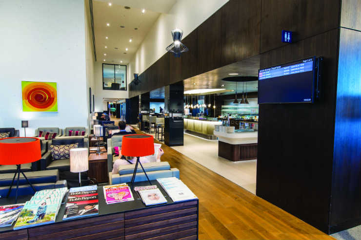 Checking into British Airways' new Gatwick and Heathrow lounges