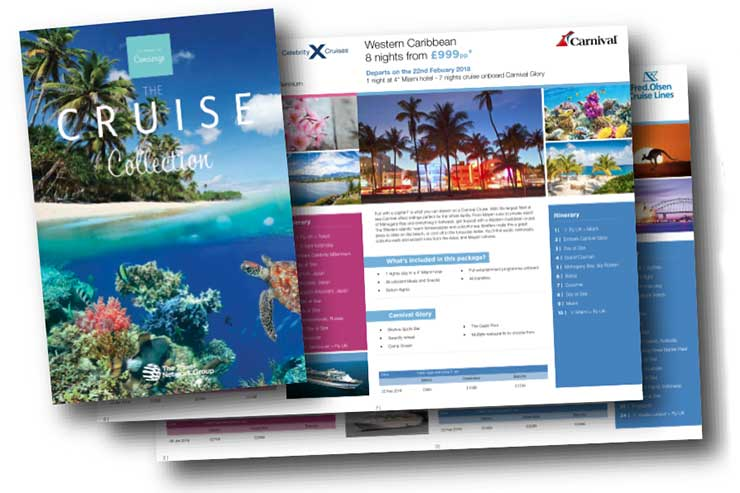 Cruise takes off at The Travel Network Group
