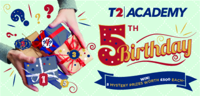 Travel 2 celebrates fifth birthday of T2 Academy with agent giveaways