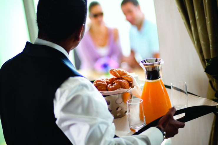 NEW: Win a Celebrity Cruises butler for you and your colleagues for a day