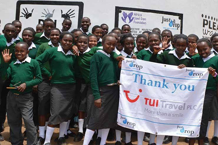Just a Drop hails Tui for securing safe water in Kenya's Makueni County