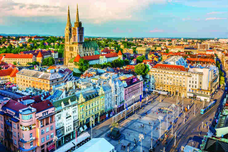 Indulging in Zagreb's historical charms