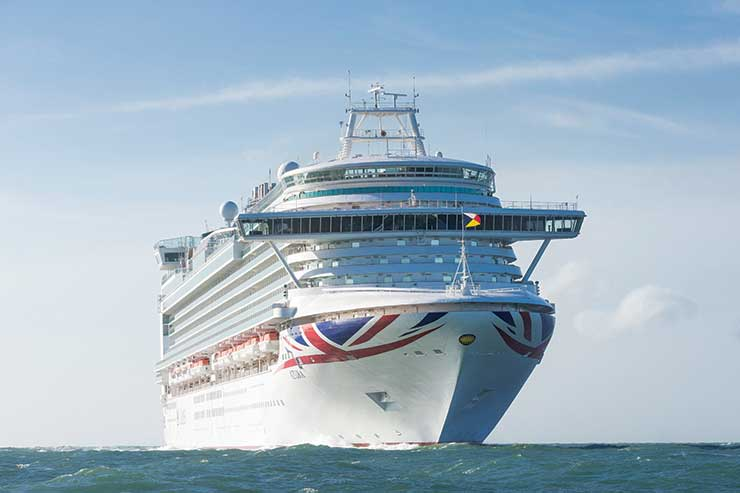 P&O and Cunard pause bookings for cruises before 21 June