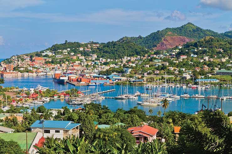 St George's Harbour, Grenada
