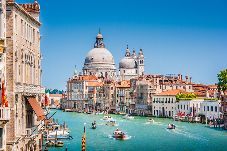 1. Venice via the Alps