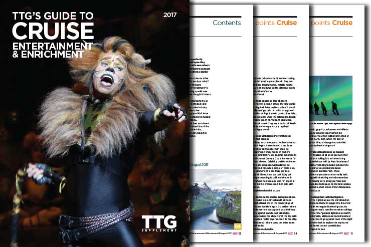 TTG's Guide to Cruise Entertainment & Enrichment 2017