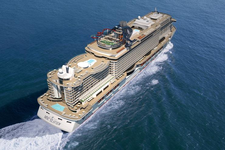 MSC floats out latest mega-ship