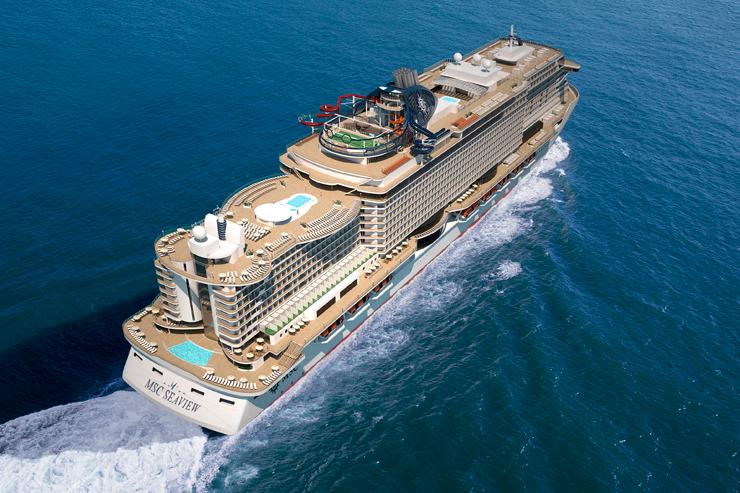 MSC Cruises delays Seaview delivery