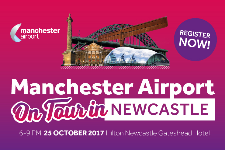 NEW: Win a selection of prizes at the Manchester Airport On Tour in Newcastle event
