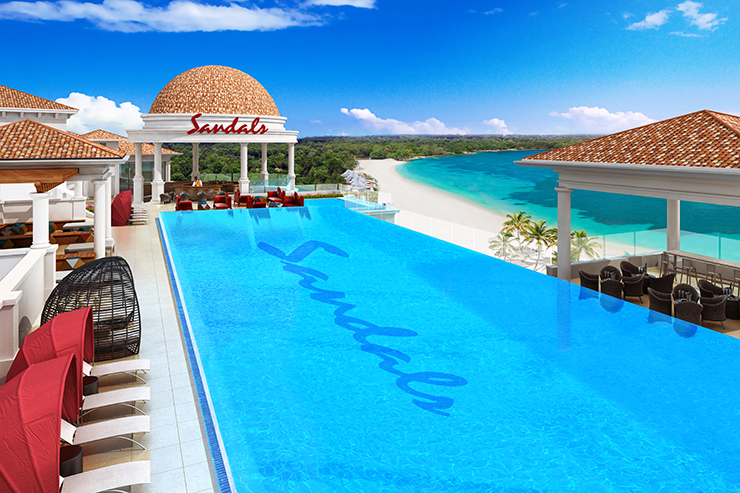 Top five reasons to visit the new Sandals Royal Barbados resort