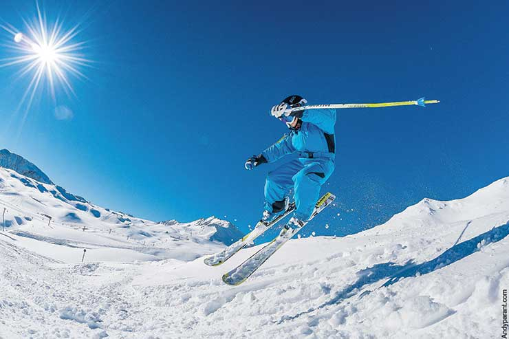 Hitting the beginner-friendly slopes in Val D'Isere with Mark Warner