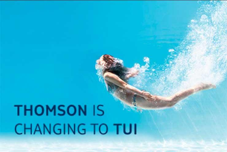 Tui's UK boss 'thanks' Thomas Cook for spoof rebrand advert