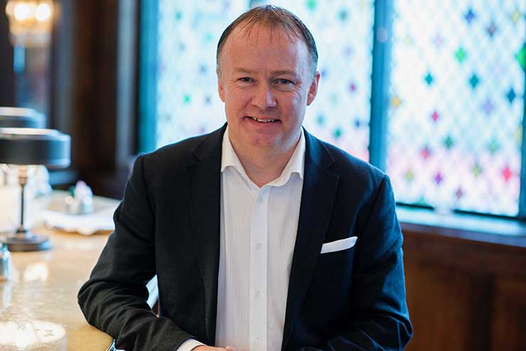 UK and Ireland managing director Chris Townson announced the news at a lunch at Rubens at the Palace