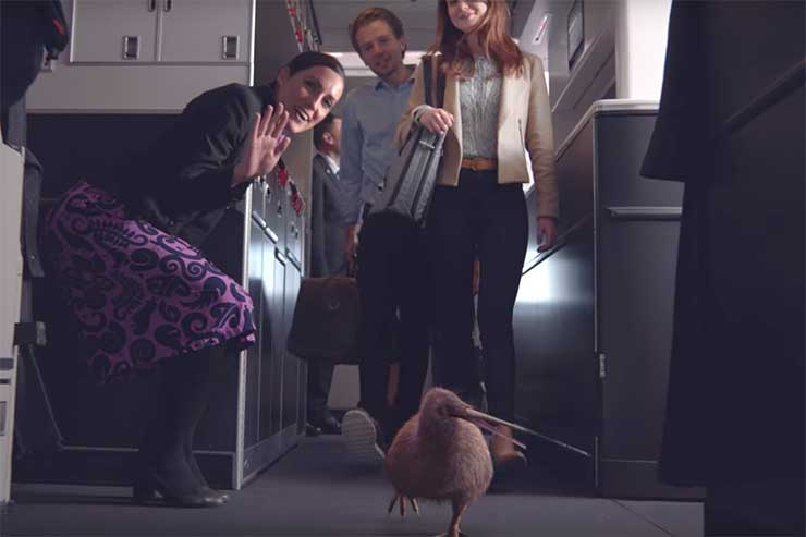 Meet Air NZ's Pete the kiwi