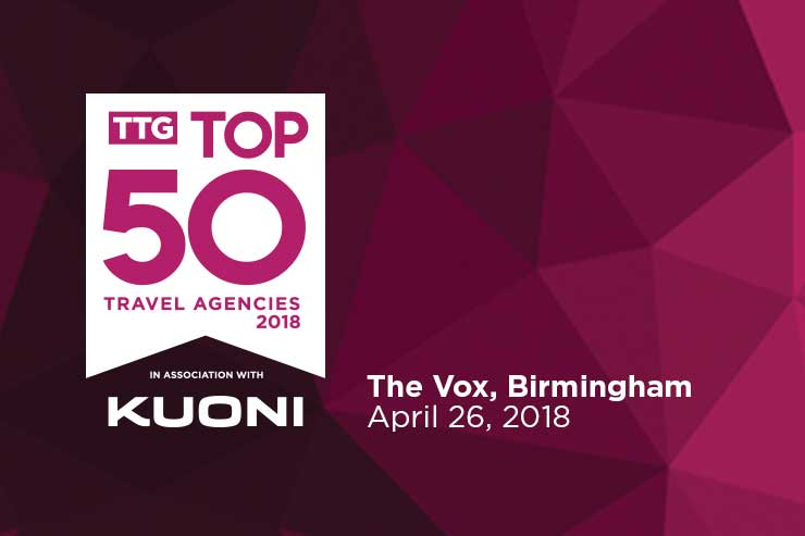 TTG Top 50 2018 Shortlist