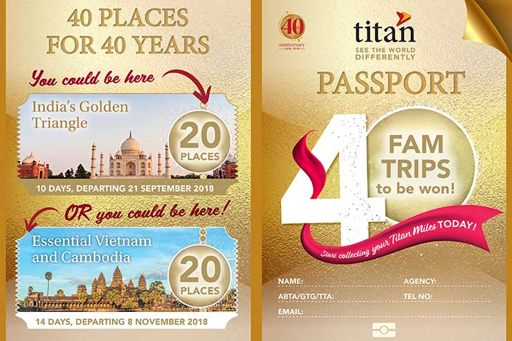 Titan fam to mark 40th anniversary