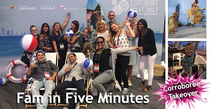 Fam in Five Minutes: Corroboree West 2017