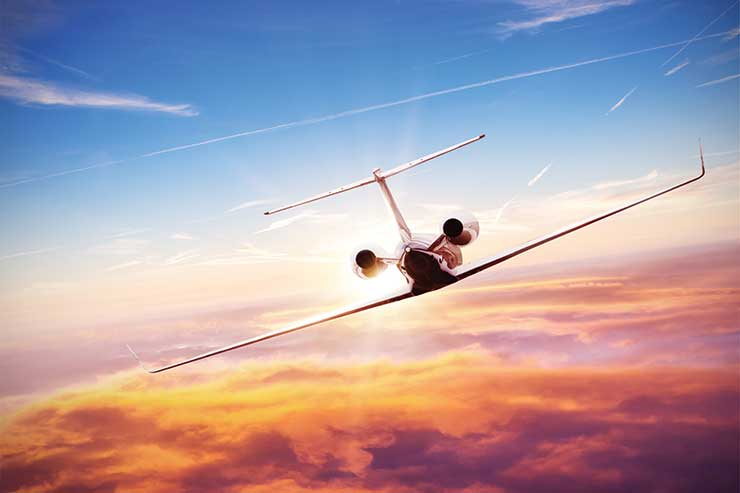 Why the sky's the limit for private jet travel