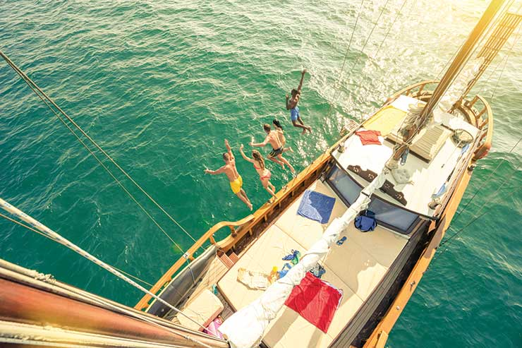 Ibiza boat