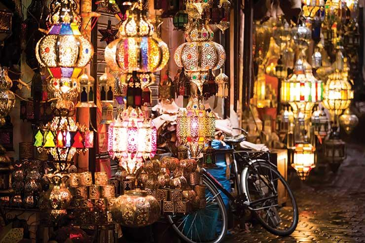 Marrakech is a big draw for UK tourists
