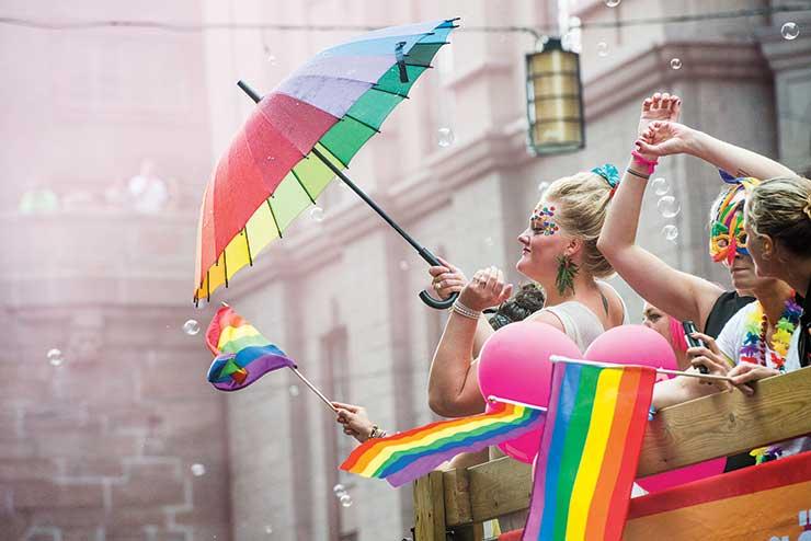 Stockholm pride. Photo Credit: Magnus Liam Karlsson
