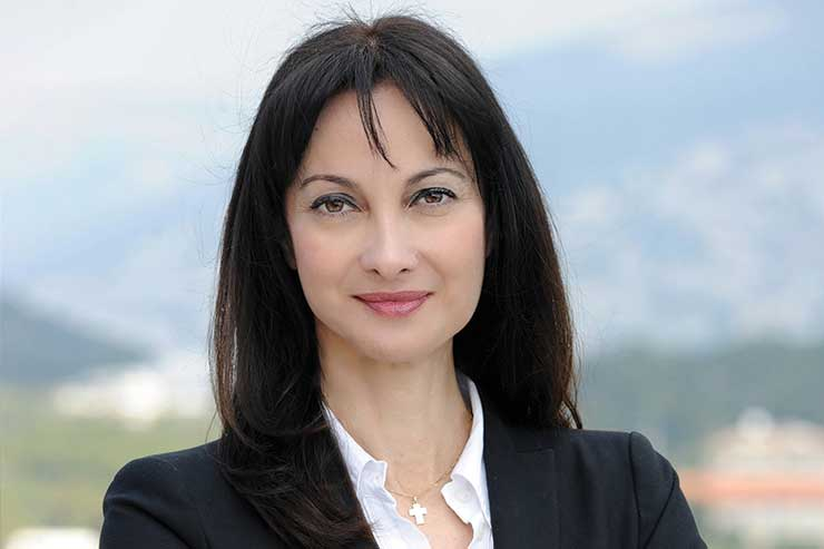 Elena Kountoura, minister of tourism for Greece
