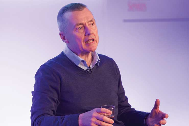 Willie Walsh is leaving British Airways' parent company