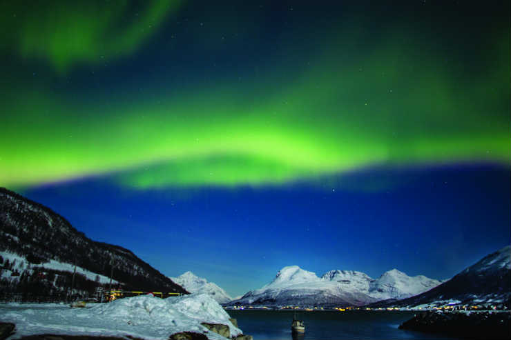 In search of the Northern Lights with Hurtigruten