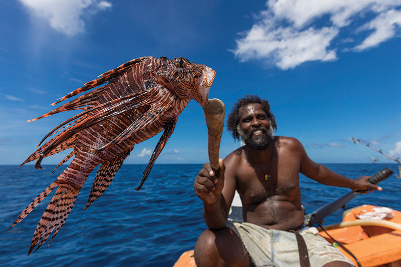 How putting lionfish on the menu can help save St Lucia's reefs