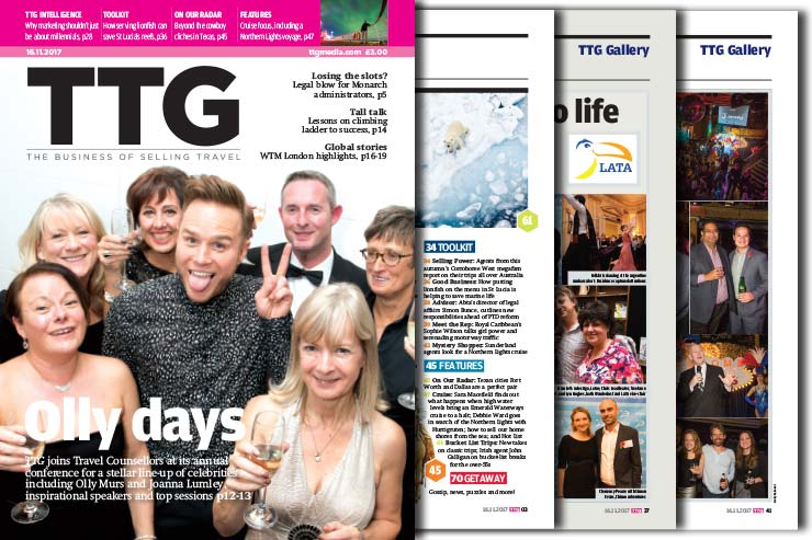 Read the TTG November 16 edition