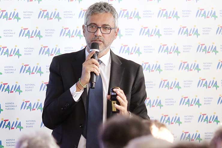 Fabio Lazzerini - Italian National Tourist Board WTM London 2017