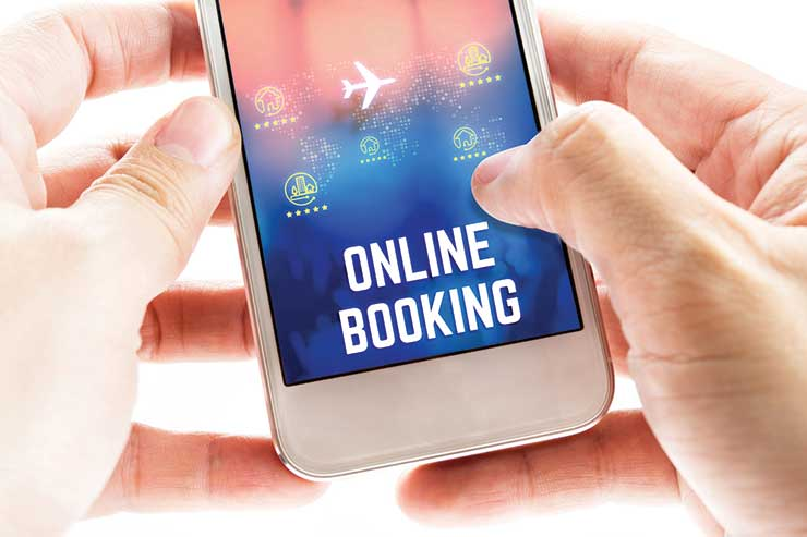 Online booking mobile