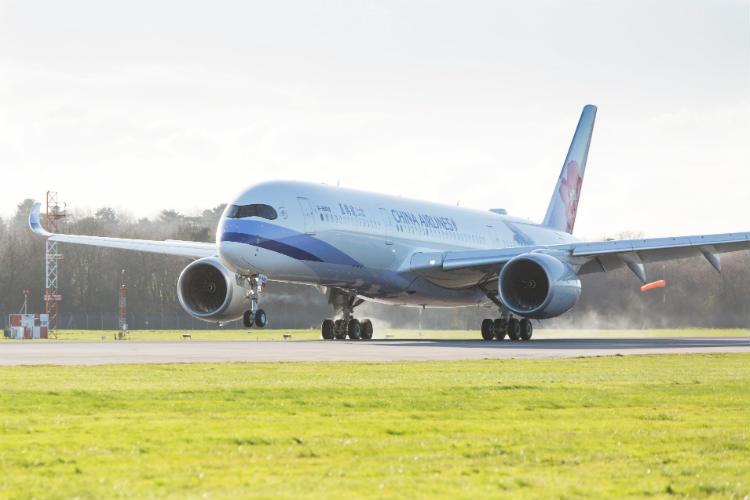 China Airlines resumes UK-Taiwan flight