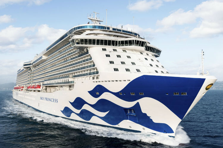 Sky Princess will be one of two Princess ships to sail from Southampton next year