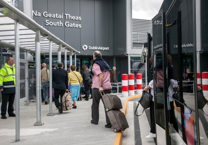 Dublin airport opens new gate area