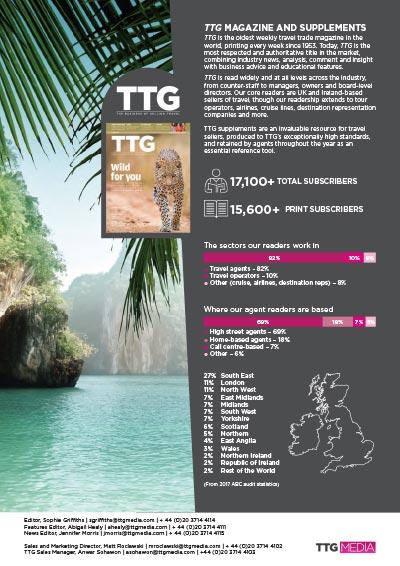 TTG magazine features 2018