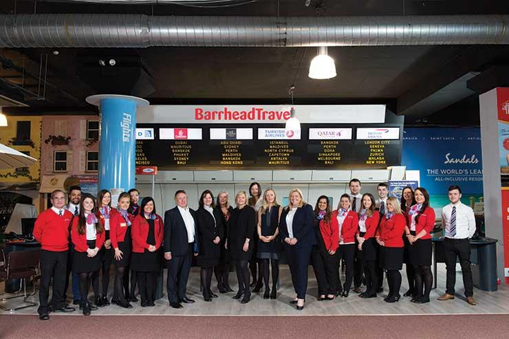 Barrhead Travel team
