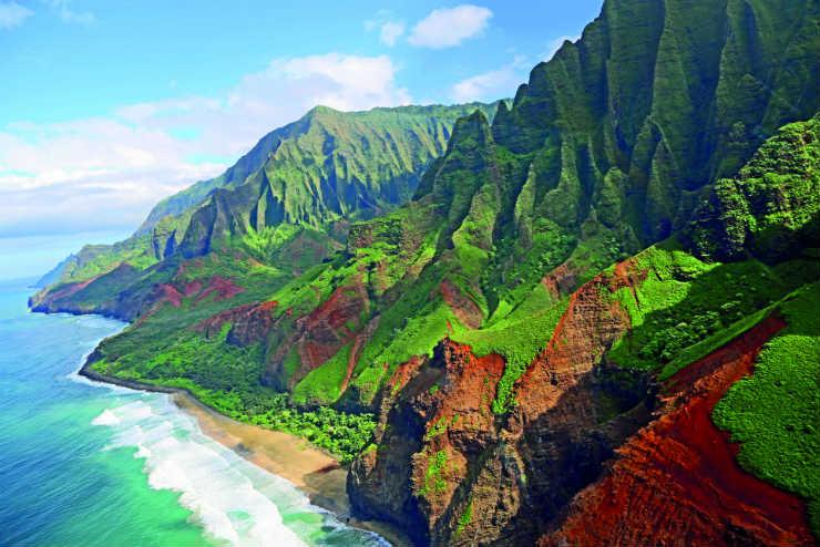Experiencing Hawaii's adventurous side
