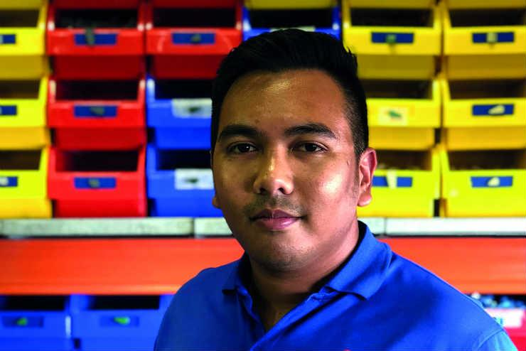 Muhammad Zahid, head model maker at Legoland Dubai